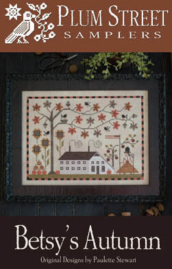 Betsy's Autumn - Cross Stitch Pattern