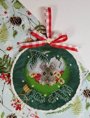 At Home For Christmas - Cross Stitch Pattern