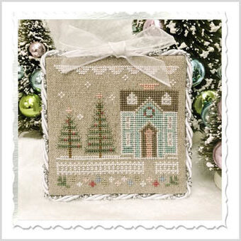 Glitter House Three - Cross Stitch Pattern