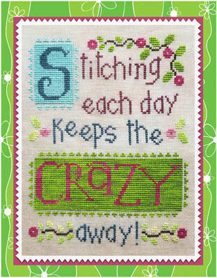 Stitching Each Day - Cross Stitch Pattern