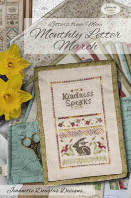Letters From Mom 7 - March - Cross Stitch Pattern
