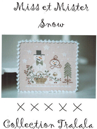 Miss Et Mister Snow - Cross Stitch Pattern