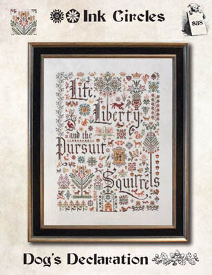 Dog's Declaration - Cross Stitch Pattern