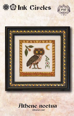 Athene Noctua - Cross Stitch Pattern