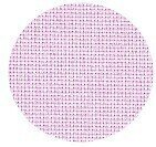 22 Count Pale Pink Hardanger Fabric 29x36