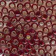 Mill Hill 18099 Ruby Glass Pony Beads - Size 8/0