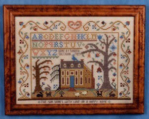 Sun Shines With Love - Cross Stitch Pattern
