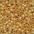 Golden Opal Glass Pony Beads - Size 8/0 (3mm)