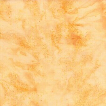 Cream Watercolor Batik 100% Cotton Fabric Half Yard