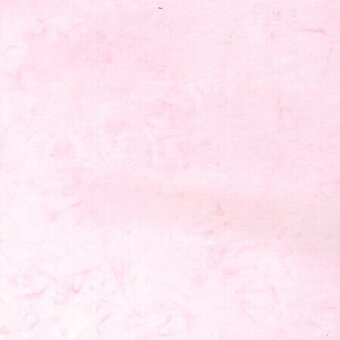 Pink Lemonade Watercolor Batik 100% Cotton Fabric Fat Qtr
