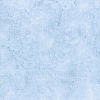 Dusty Blue Watercolor Batik 100% Cotton Fabric Yardage