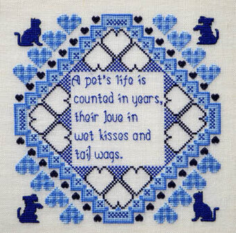 Pet's Life - Cross Stitch Pattern