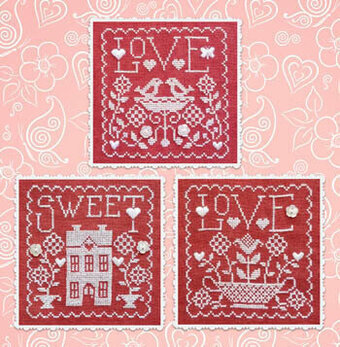 Love Sweet Love - Cross Stitch Pattern