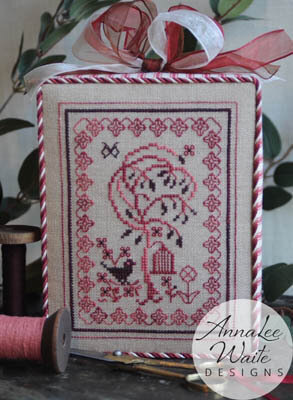Bird & Willow - Cross Stitch Pattern