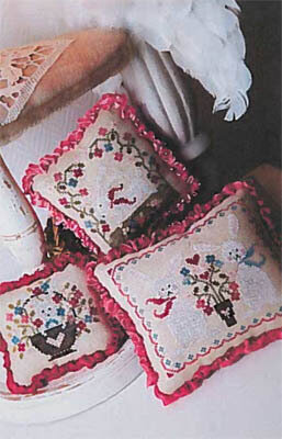 1 2 3 Lapins - Cross Stitch Pattern