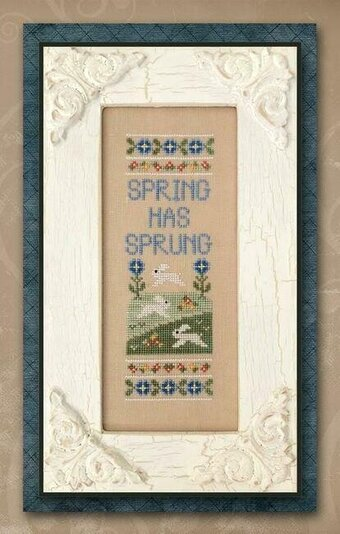 Spring Has Sprung - Cross Stitch Pattern