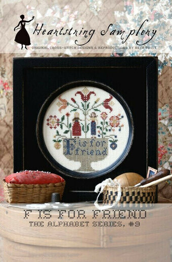 F is for Friend - Cross Stitch Pattern