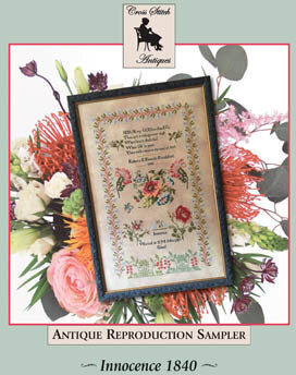 Innocence 1840 - Cross Stitch Pattern