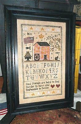 Friends of the Mill Sampler - Cross Stitch Pattern