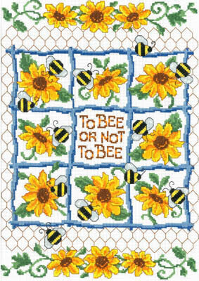 To Bee or Not to Bee - Cross Stitch Pattern