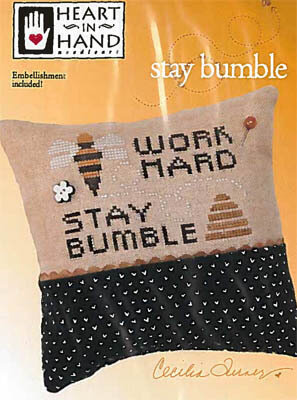 Stay Bumble - Cross Stitch Pattern