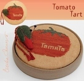 Tomato Tart - Cross Stitch Pattern