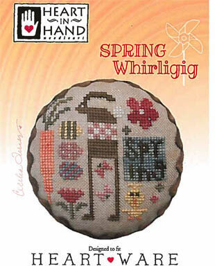 Spring Whirligig - Cross Stitch Pattern