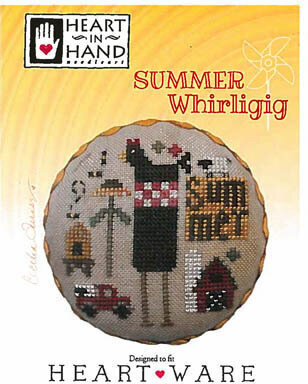 Summer Whirligig - Cross Stitch Pattern