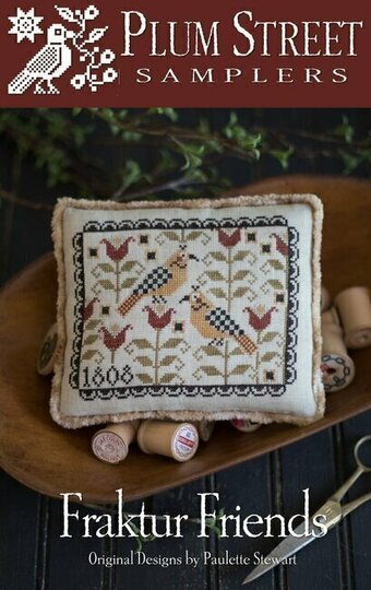 Fraktur Friends - Cross Stitch Pattern