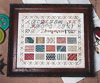 Learning Stitches - Cross Stitch Pattern