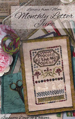 Letters From Mom 11 - June - Cross Stitch Pattern