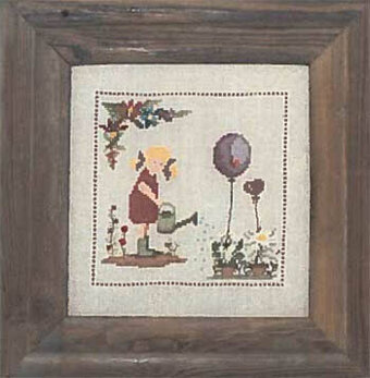 In the Garden - Cross Stitch Pattern