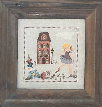Dancing - Cross Stitch Pattern