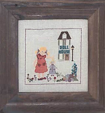Doll House - Cross Stitch Pattern