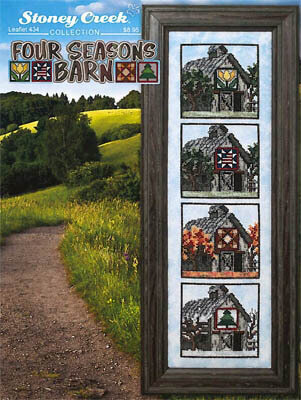 Four Seasons Barn - Cross Stitch Pattern
