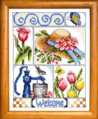 Beautiful Blessings - Cross Stitch Pattern
