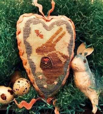 Sweet Bunny - Cross Stitch Pattern