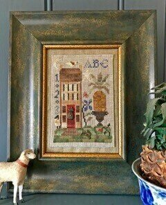 Hospitality House - Cross Stitch Pattern