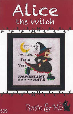 Alice the Witch - Cross Stitch Pattern