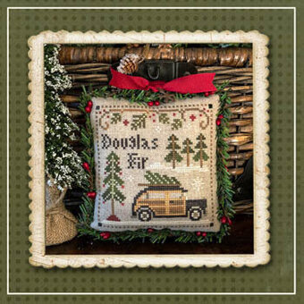 Douglas Fir - Jack Frost's Tree Farm 2 Cross Stitch Pattern