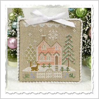 Glitter House 6 - Cross Stitch Pattern