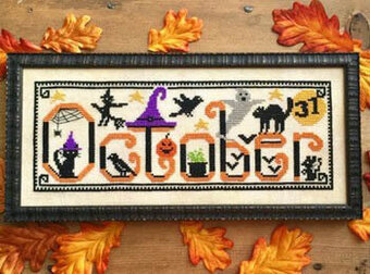 Spooky October - Cross Stitch Pattern