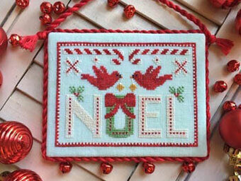 Cardinal Noel - Cross Stitch Pattern