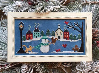 Snow Many Friends - Cross Stitch Pattern