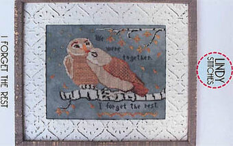 I Forget the Rest - Cross Stitch Pattern
