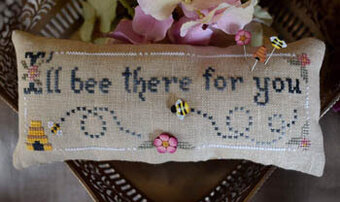 I'll Bee There - Cross Stitch Pattern