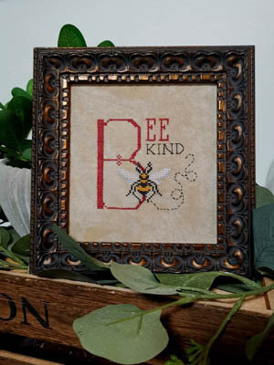 Bee Kind - Cross Stitch Pattern
