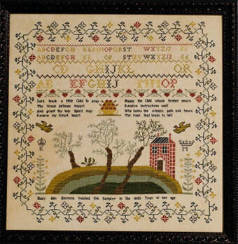 Mary Ann Simmons - Cross Stitch Pattern