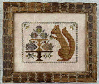 Autumn Squirrel - Cross Stitch Pattern