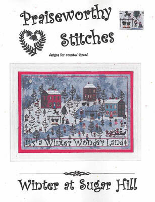 Winter at Sugar Hill - Cross Stitch Pattern